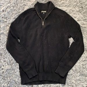 Express Zip Up Sweater